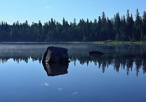 Misty Summer Morning by David Porteus