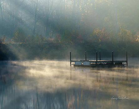 Misty Sunrise by George Randy Bass