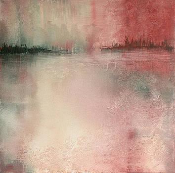 Misty Sunset by Sylvia Morgan