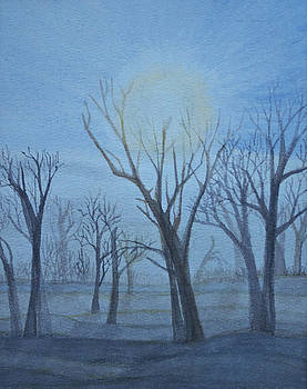 Misty Trees by Desiree Aguirre