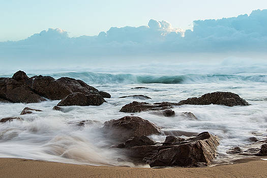 Misty waters rush by Jesse Coutts