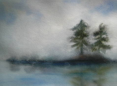 Misty Waters by Vivian  Mosley