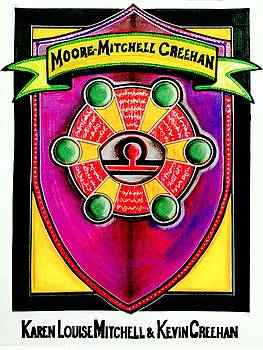 Mitchell-Creehan Ancestral Healing Family Crest by Ahonu