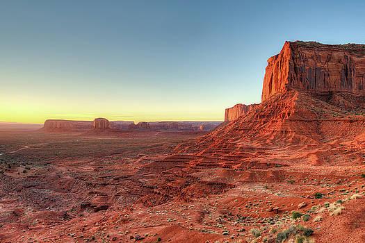 Mitchell Mesa Sunrise by Ray Devlin