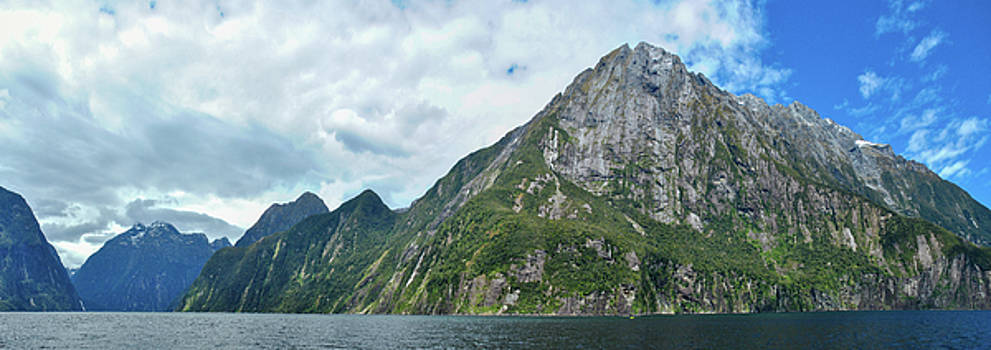 Mitre Peak, Milford Sound by Megan Martens