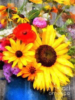 Mixed Bouquet by Helene Guertin