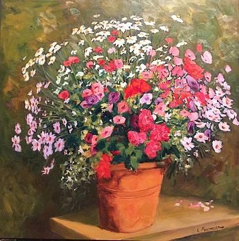Mixed bouquet  by Liliane Fournier