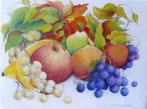 Mixed Fruit by Barbara Anna Cichocka