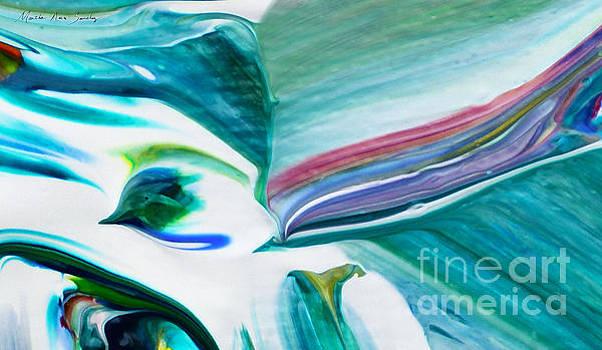 Mixed Media Abstract F11317L by Mas Art Studio