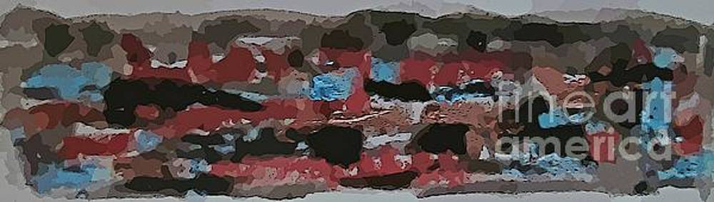 Mixed Media Abstraction by John Malone