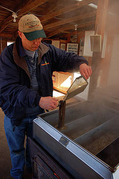 Mixing the Maple Syrup by James Kirkikis