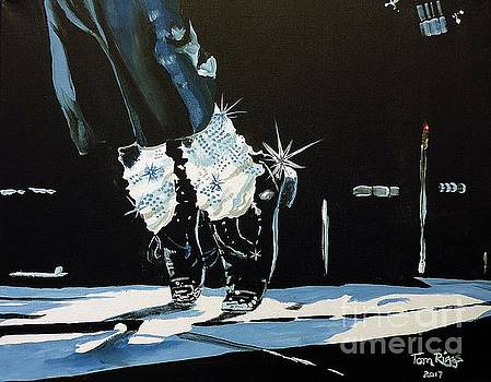 MJ On His Toes by Tom Riggs