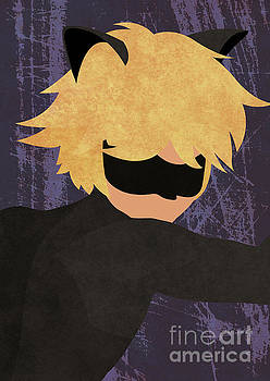 ML_Chat Noir by Inkshadow By Mica