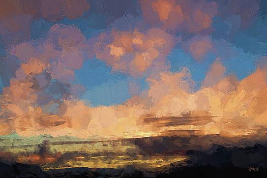 David Gordon - Moab Sunrise Abstract Painterly