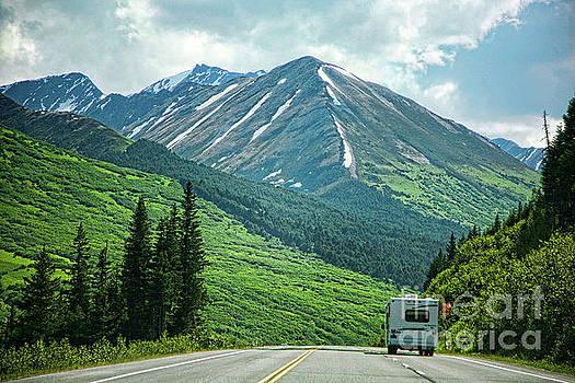 Mobile Home Alaska  by Chuck Kuhn