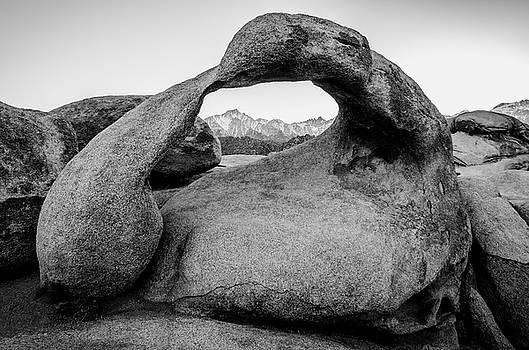 Margaret Pitcher - Mobius Arch in Monochrome No.2