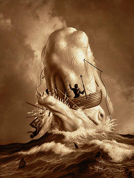 Moby Dick 2 by Jerry LoFaro