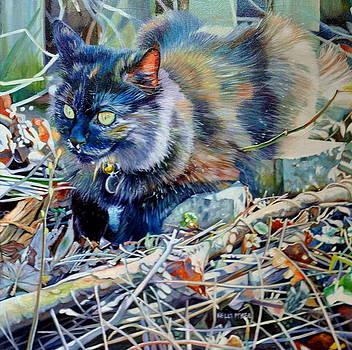 Moca Super Kitty by Kelly McNeil