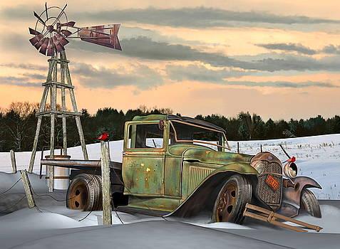 Model A Flatbed by Stuart Swartz