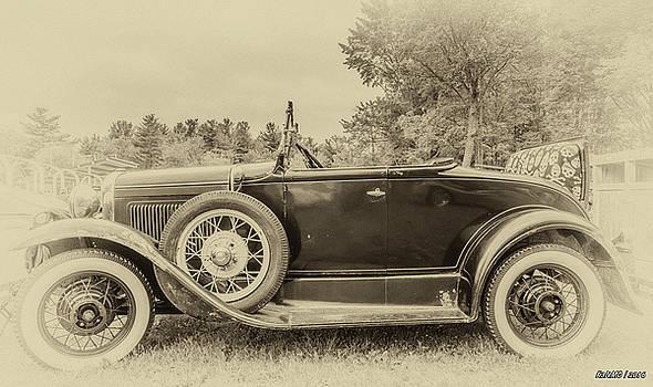 Model A Ford roadster by Ken Morris