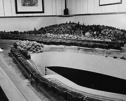 Chicago and North Western Historical Society - Model of Chicago and North Western Ore Terminal - 1984