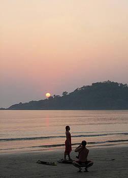 Umesh U V - Model Sunset