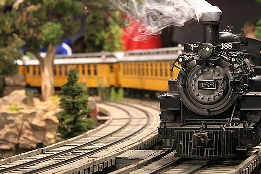 Model Train by Theresa Willingham