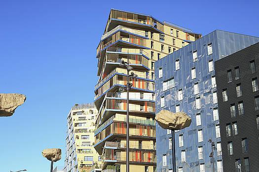Modern architecture in Paris by Virginie Blanquart