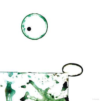 Sharon Cummings - Modern Art - Balancing Act 1 - Sharon Cummings