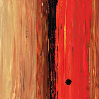 Sharon Cummings - Modern Art - The Power Of One Panel 1 - Sharon Cummings