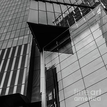 Modern Buildings NYC Abstract by Edward Fielding