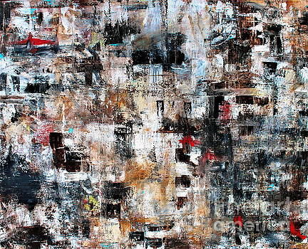 PRISTINE CARTERA TURKUS - MODERN CONTEMPORARY ABSTRACT ART II