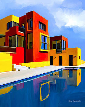 Modern House by Ata Alishahi