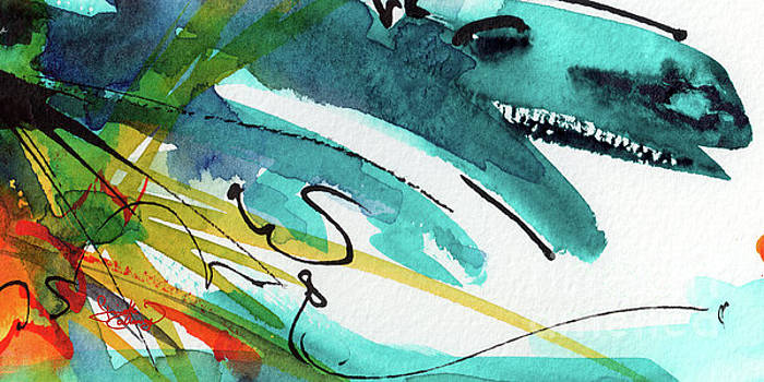 Ginette Callaway - Modern Intuitive Abstract Watercolor