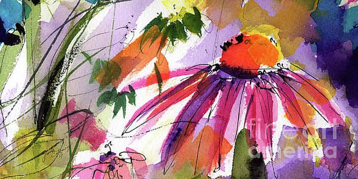 Ginette Callaway - Modern Macro Echinecea Floral 2