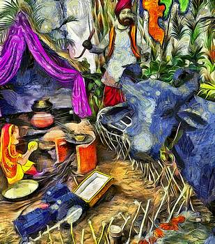 Bliss Of Art - Modern painting of Punjab