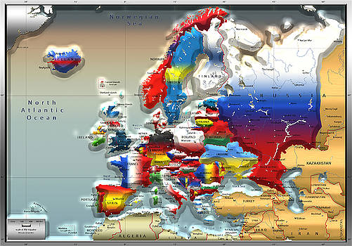 Serge Averbukh - Modern Portrait Of Modern Europe - 3d