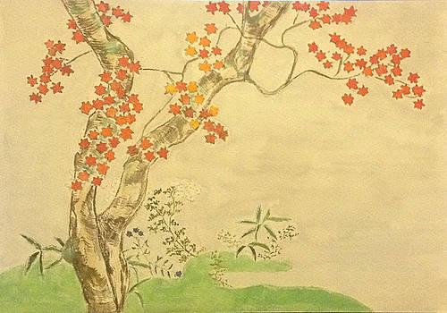 Modern Reflection of Sakai Hoitsu by Sawako Utsumi