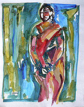Modesty by Abin Raj