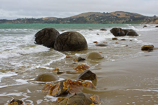 Venetia Featherstone-Witty - Moeraki Boulders, Otago, New Zealand