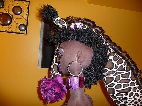 Mohawk African Beauty Queen by Cassandra George Sturges