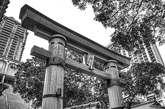 Oahu Torii Gate by Richard Hinds