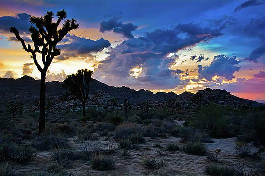 Mojave Desert Sunset Sky by Kyle Hanson