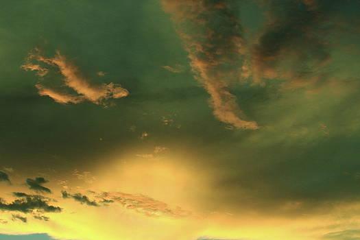Mojave Twilight by Lon Watkins