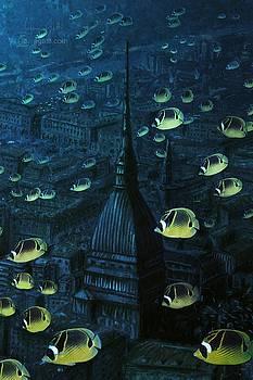 Andrea Gatti - Mole con pesci gialli