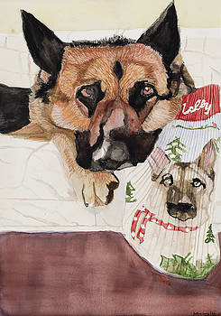 Molly's Christmas Stocking by Marcella Morse