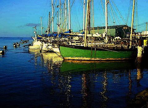 James Temple - Molokai Wharf