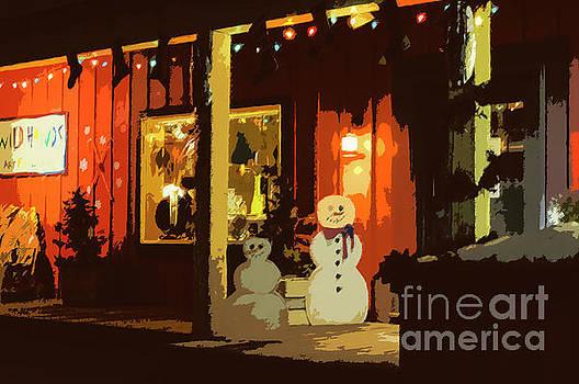 Bob Phillips - Mom and Pop Snowmen 4