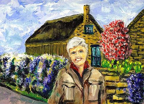 Mom in the Cotswolds by Randy Sprout