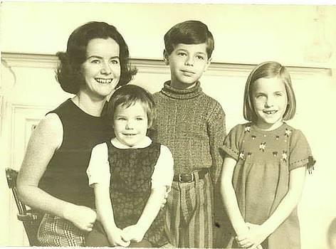 Mom, Sisters and I - ca 1971 by David Bridburg